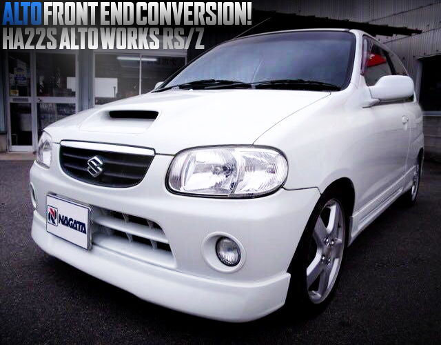 ALTO FRONT END CONVERSION HA22S ALTO WORKS RSZ