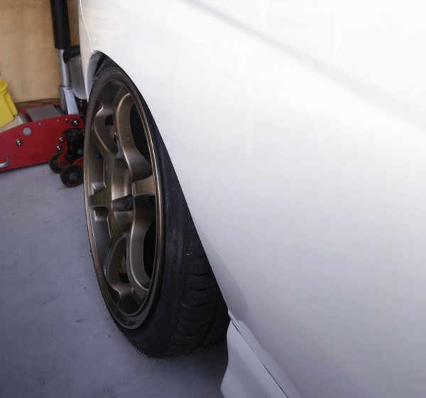 RIGHT WHEEL OF CAMBER SETUP