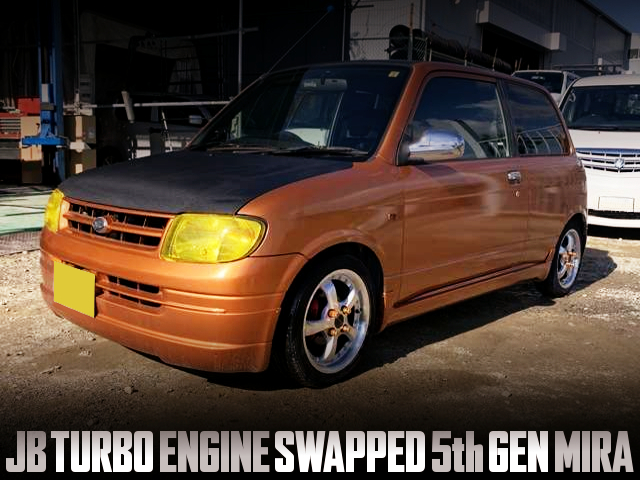 INLINE FOUR JB TURBO SWAPPED L700 MIRA 3-DOOR