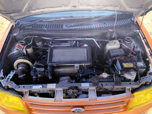 JB 660cc TURBO ENGINE
