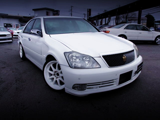 FRONT EXTERIOR OF ZERO CROWN FRONT END TO JZS171 ATHLETE-V