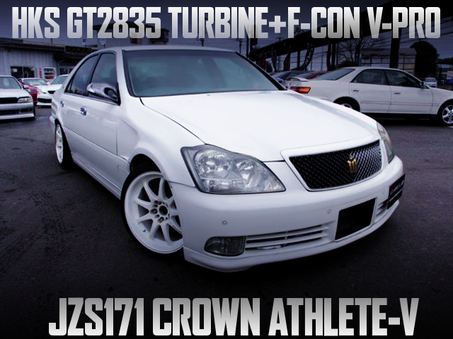 1JZ With GT2835 AND F-CON V-PRO INTO A JZS171 CROWN TO ZERO CROWN FRONT END CONVERSION