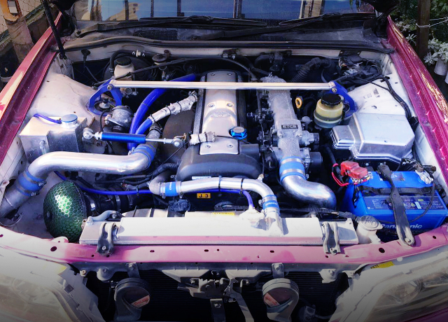 1JZ-GTE ENGINE WITH HKS TURBO