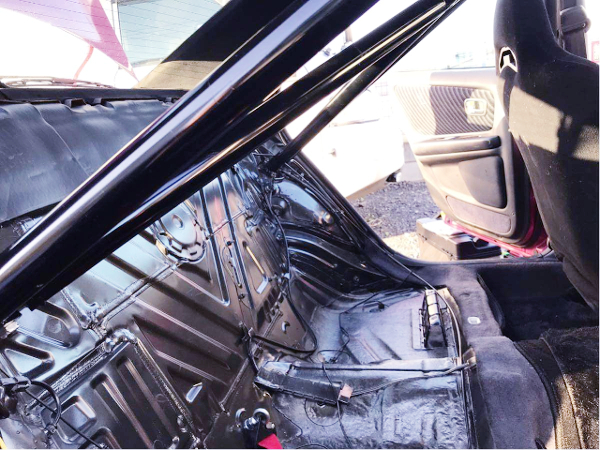 ROLL CAGE AND REAR SEAT DELETE