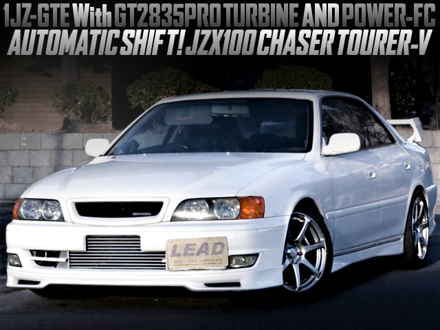 1JZ With GT2835PRO TURBO AND POWER-FC WITH AT-SHIFT OF JZX100 CHASER TOURER-V