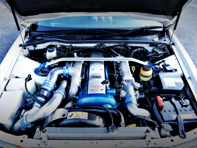 VVTi 1JZ-GTE 2500cc TURBO ENGINE OF JZX100 CHASER MOTOR