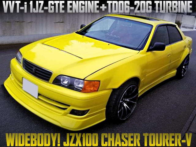 TD06-20G TURBO AND WIDEBODY WITH JZX100 CHASER TOURER-V