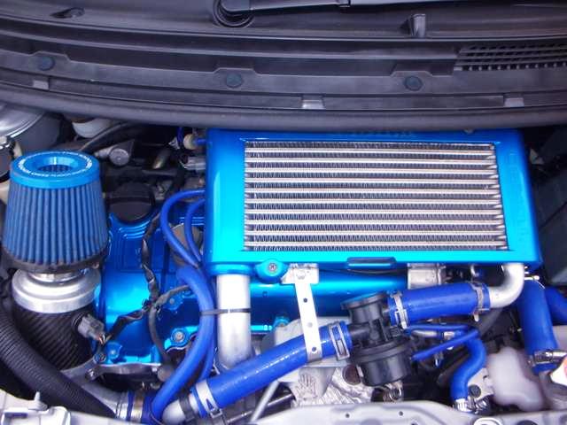 INLINE FOUR OF JB-DET 660cc TURBO ENGINE