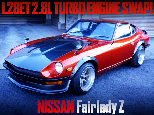 L28ET 2800cc TURBO ENGINE SWAPPED S30Z