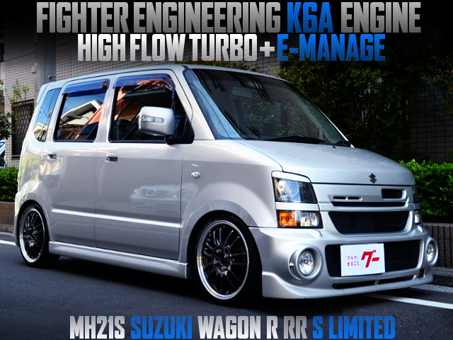 FIGHTER K6A AND HIGH FLOW TURBO INTO MH21S WAGON R RR S LTD