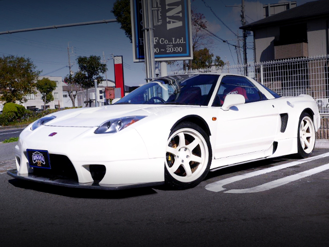 FRONT EXTERIOR NA1 NSX WIDEBODY AND 02 HEADLIGHT