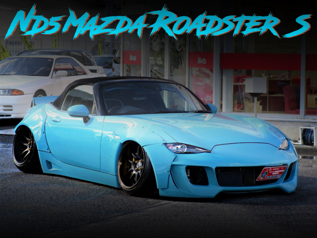 STANCE AND WIDEBODY WITH ND5 MAZDA ROADSTER