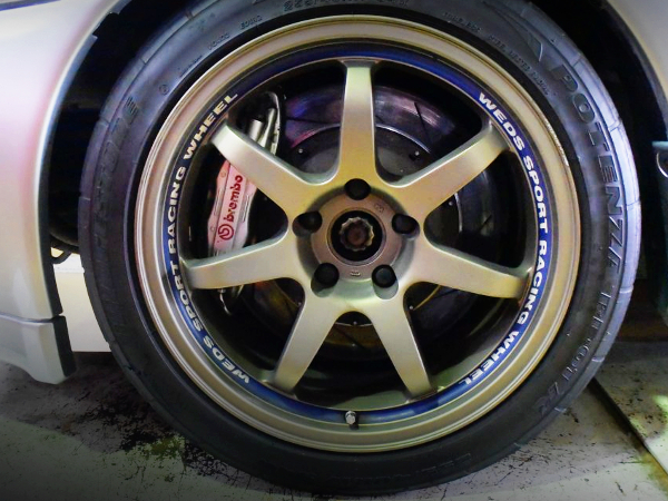 FRONT Brembo BRAKE AND WEDS WHEEL
