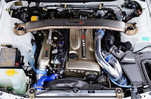 RB26 TWINTURBO ENGINE OF R34GT-R M-SPEC NUR MOTOR