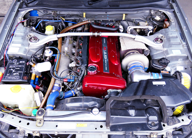 T78-33D SINGLE TURBO ON RB26 TO R34 GT-R MOTOR