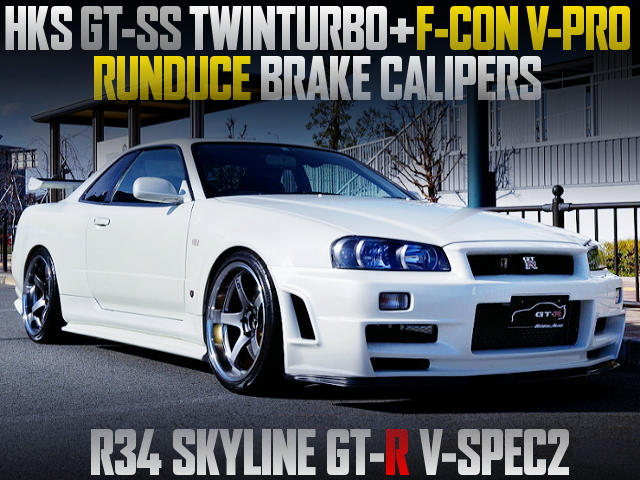 GT-SS TWINTURBO AND V-PRO WITH R34 GT-R V-SPEC2