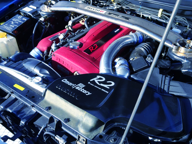 NISMO OMORI FACTORY R2 ENGINE