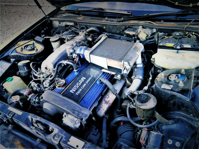 RB25DET TURBO ENGINE With TOP MOUNT INTERCOOLER