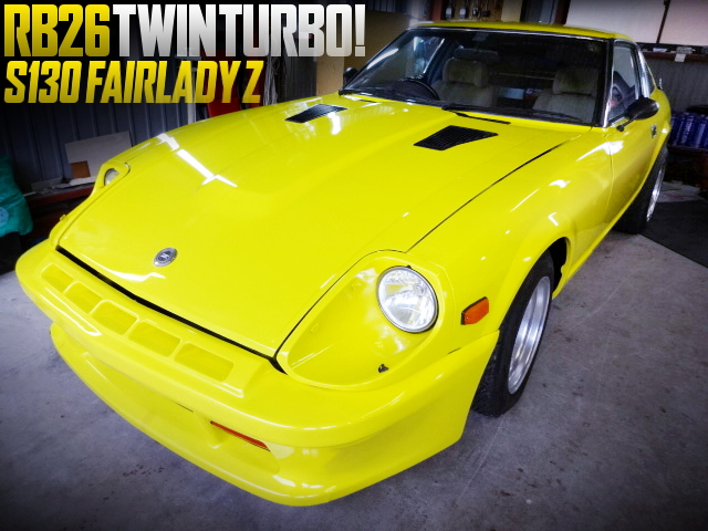 RB26 TWINTURBO SWAPPED S130 FAIRLADY Z
