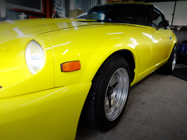 S130Z FRONT FENDER AND IMPUL WHEEL