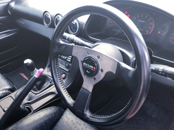 NISMO STEERING AND S15 DASHBOARD