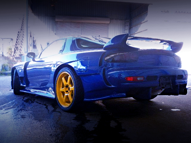 REAR EXTERIOR FD3S RX-7 TYPE-RB TO BLUE