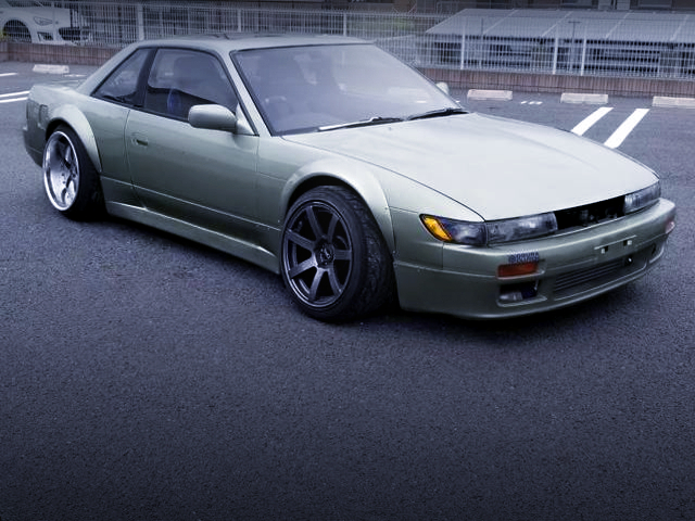 FRONT EXTERIOR S13 SILVIA WIDEBODY