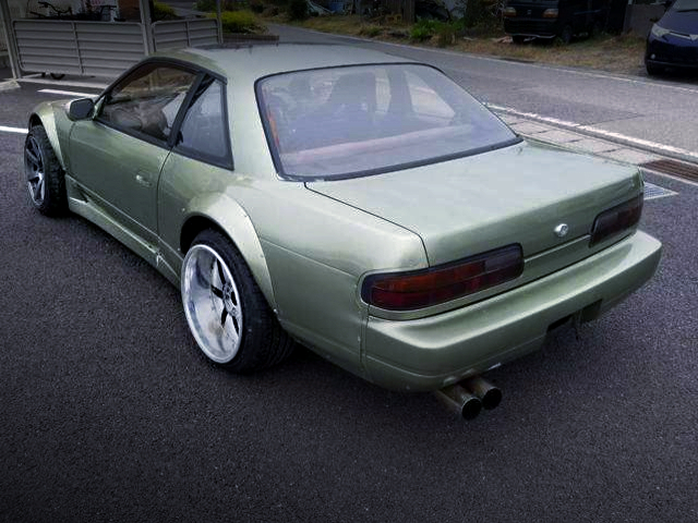 REAR EXTERIOR S13 SILVIA WIDEBODY