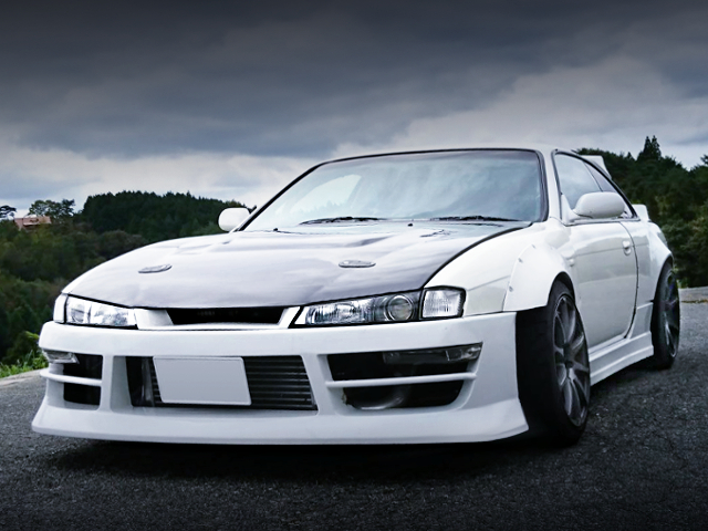 FRONT EXTERIOR OF S14 SILVIA