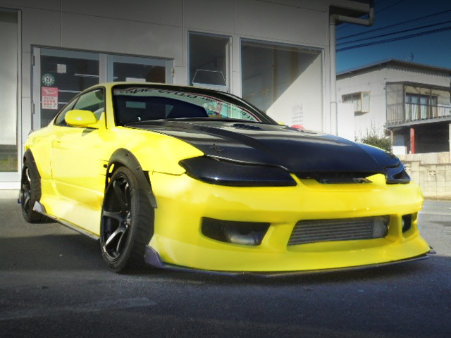 FRONT EXTERIOR OF S15 SILVIA WIDEBODY