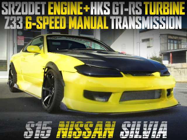 GT-RS TURBO AND Z33 6MT INTO S15 SILVIA WIDEBODY