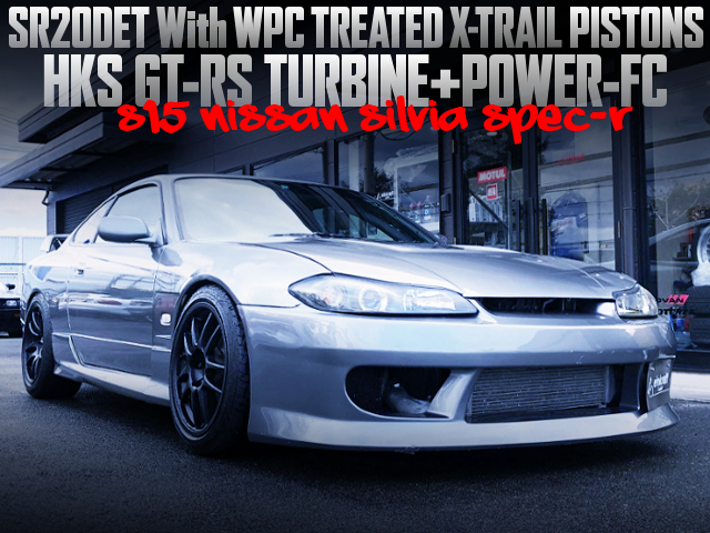 SR20DET WITH WPC XTRAIL PISTONS AND GT-RS TURBO INTO S15 SILVIA SPEC-R