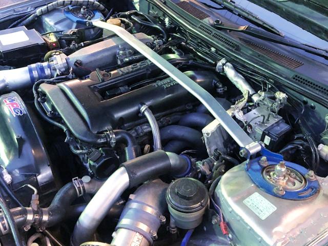 BLACK TOP SR20DET TURBO ENGINE