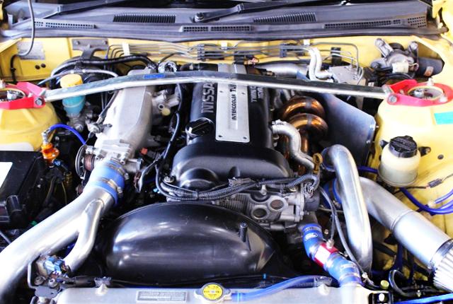 S15 SR20DET TURBO ENGINE