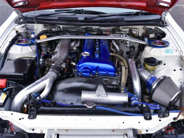 SR20DET TURBO ENGINE OF S15 MOTOR