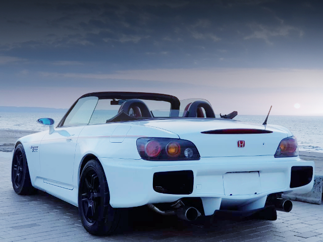 REAR EXTERIOR OF SPOON SPORT S2000 COMPLETE CAR