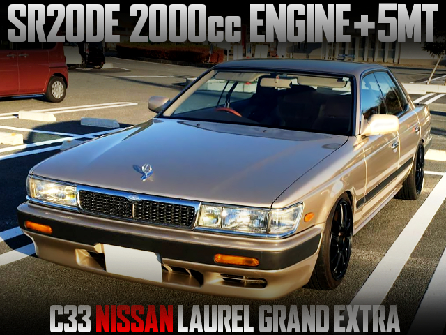 SR20DE ENGINE AND 5MT SWAPPED C33 LAUREL GRAND EXTRA