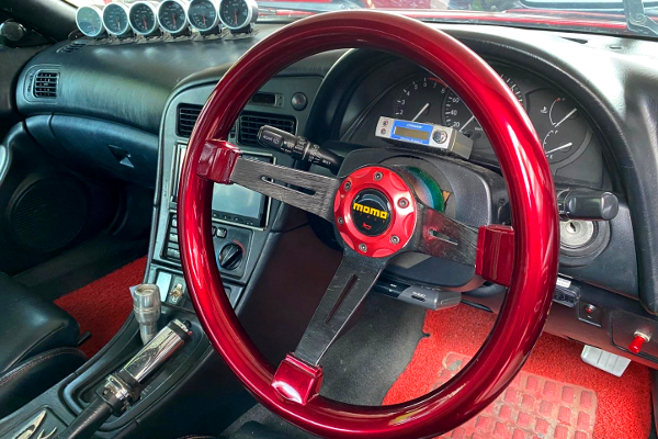 MOMO STEERING AND DASHBOARD