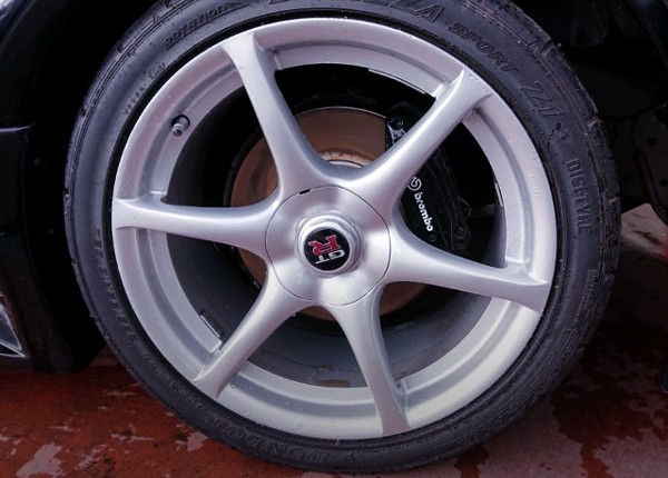 FRONT R34 GT-R ALUM WHEEL