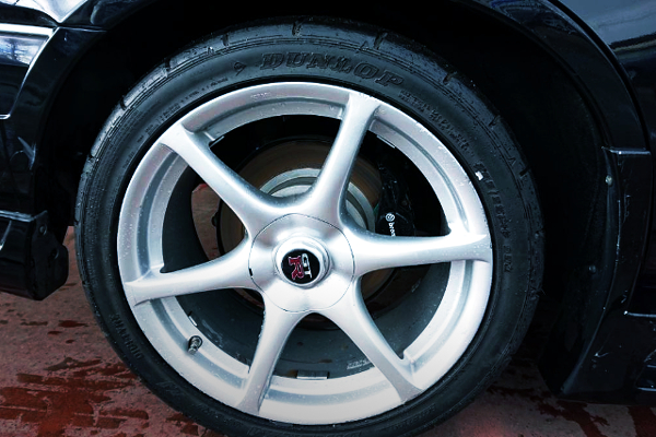 REAR R34 GT-R ALUM WHEEL OF 18-INCH SIZE