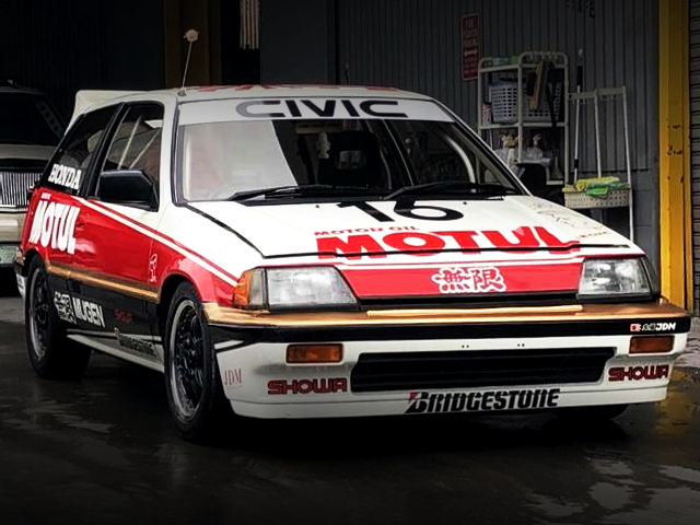 FRONT EXTERIOR OF JTC REPLICA TO WONDER CIVIC Si