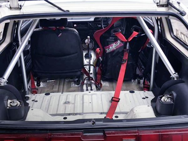 ROLL BAR AND TWO-SEATER