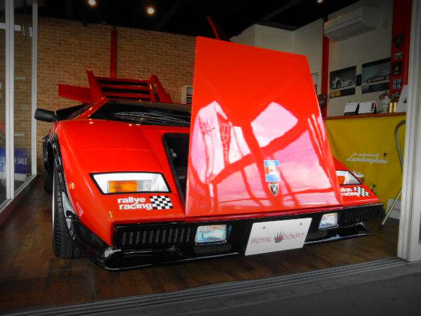 FRONT HOOD OPEN WOLF COUNTACH REPLICA MR-S