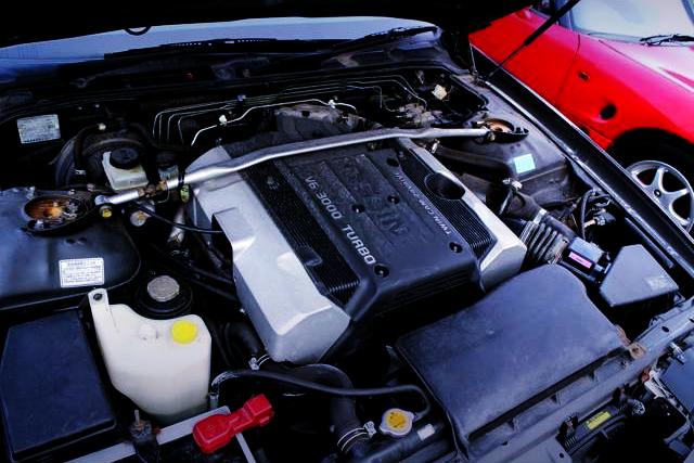 VQ30DET 3000cc V6 TURBO ENGINE