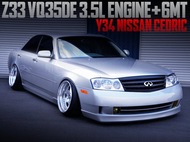 Z33 VQ35DE ENGINE AND 6MT SWAPPED Y34 CEDRIC