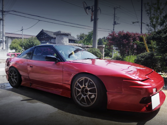 FRONT EXTERIOR OF 180SX WIDEBODY