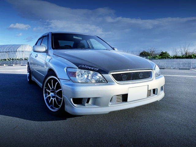 FRONT EXTERIOR OF ALTEZZA TO SILVER