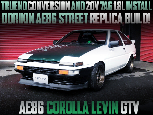 7AG AND TRUENO CONVERSION OF AE86 LEVIN GTV