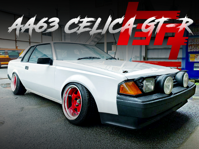 AA63 CELICA COUPE GT-R LOWERED
