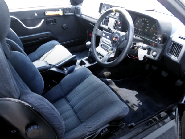 INTERIOR OF AA63 CELICA COUPE GT-R
